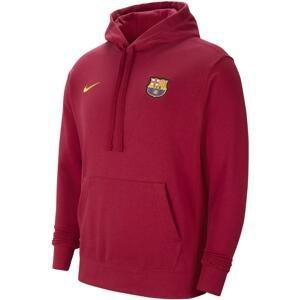 Mikina s kapucí Nike FC Barcelona Men s Fleece Hoodie