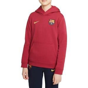 Mikina s kapucí Nike FC Barcelona Big Kids Full-Zip Fleece Hoodie