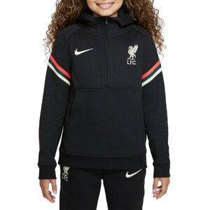 Mikina s kapucí Nike Liverpool FC Big Kids  Dri-FIT Soccer Hoodie