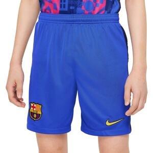 Šortky Nike FC Barcelona 2021/22 Stadium Third Big Kids Soccer Shorts
