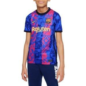 Dres Nike FC Barcelona 2021/22 Stadium Third Big Kids Soccer Jersey