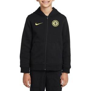 Mikina s kapucí Nike Chelsea FC Big Kids Full-Zip Fleece Hoodie