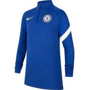 Triko s dlouhým rukávem Nike Chelsea FC Academy Pro Big Kids  Dri-FIT Soccer Drill Top