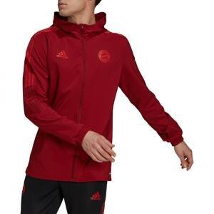 Bunda s kapucí adidas FCB PRE JACKET 2021/22