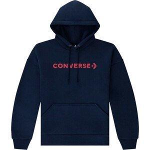 Mikina s kapucí Converse Converse Embroidered Wordmark Hoody Damen F471