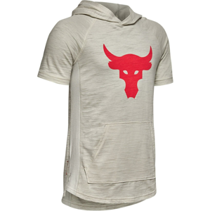 Mikina s kapucí Under Armour Project Rock SS Charged Cotton Hoody