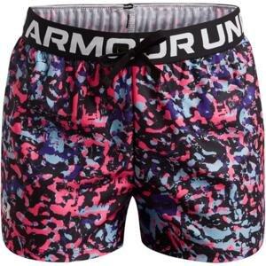 Šortky Under Armour Play Up Printed Shorts-BLK