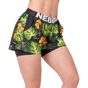 Šortky Nebbia High-energy double layer shorts