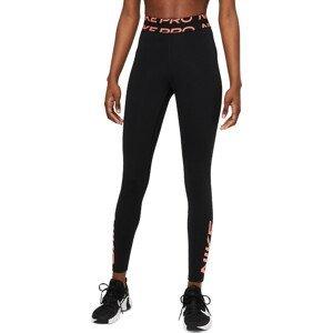 Legíny Nike  Pro Dri-FIT Women's Mid-Rise Graphic Leggings