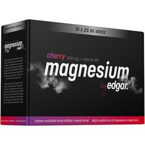Nápoj Edgar Magnesium cherry 10x25ml