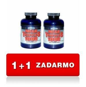 1 + 1 Zdarma: Mega Tribulus 1000 - Mega-Pro Nutrition 200 kaps. + 200 kaps.