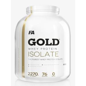 Gold Whey Isolate - Fitness Authority 2270 g Jahoda+Banán