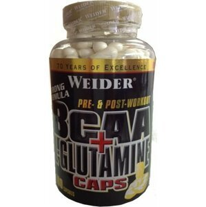 BCAA + L-Glutamine - Weider 180 kaps.