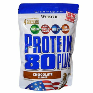 Protein 80 Plus - Weider 2000 g Vanilka