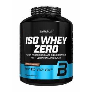 ISO Whey ZERO - Biotech USA 2270 g Brownie s lesným ovocím