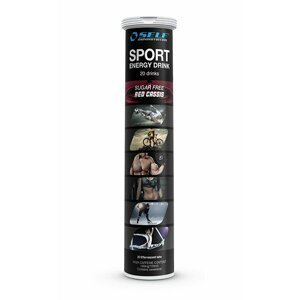 Sport Energy Drink od Self OmniNutrition 20 tbl. Red Cassis