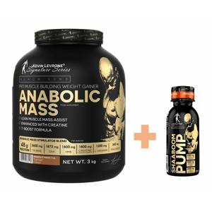 Anabolic Mass 3,0 kg - Kevin Levrone 3000 g Strawberry+Banana