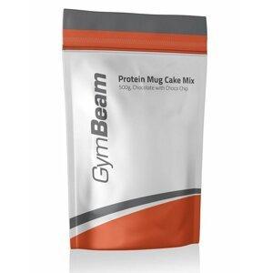 Protein Mug Cake Mix - GymBeam 500 g Vanilla with Blueberry Pieces