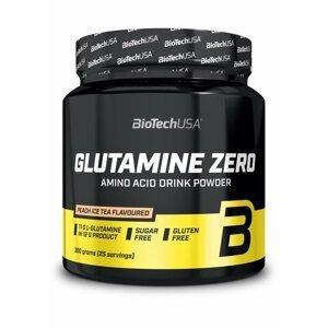 Glutamine Zero - Biotech USA 300 g Broskyňa+Ľadový čaj