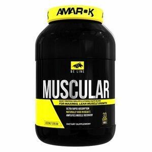 Be Muscular - Amarok Nutrition 1000 g Rich Chocolate