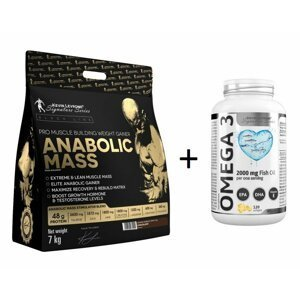 Anabolic Mass 7,0 kg - Kevin Levrone 7000 g Snikers