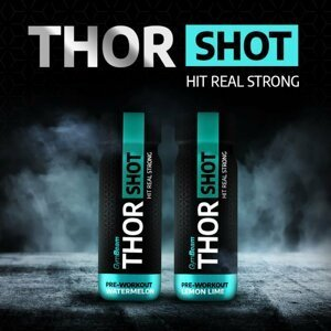Thor Shot - GymBeam 60 ml. Watermelon