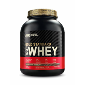 100% Whey Gold Standard Protein - Optimum Nutrition 4540 g Delicious Strawberry