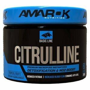 Basic Line Citrulline - Amarok Nutrition 240 g Tropical
