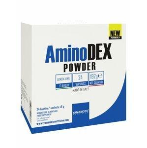 AminoDEX POWDER (aminokyseliny rostlinného původu) - Yamamoto 24 bags x 8 g Mango Maracuja