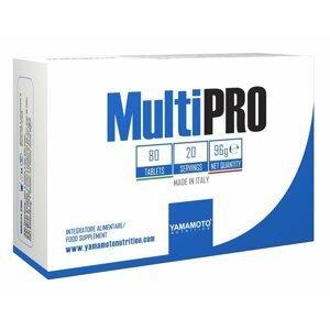 MultiPRO (komplexní multivitamin a multiminerál) - Yamamoto 80 tbl.