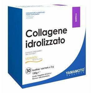 Collagene idrolizzato (směs 4 kolagenů) - Yamamoto 30 bags x 5 g Wild Strawberry