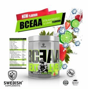 BCEAO Next Level - Swedish Supplements 500 g Strawberry+Lime