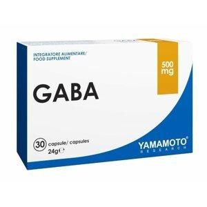 Gaba (podporuje růst čisté svalové hmoty) - Yamamoto 30 kaps.