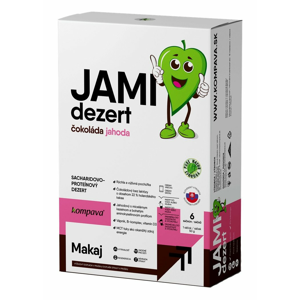 Jami Dezert - Kompava 6 x 50 g Čokoláda