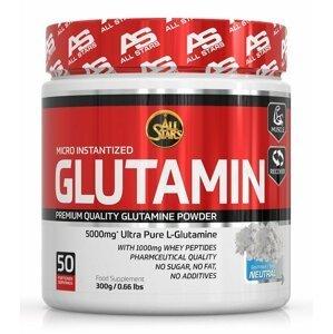 Glutamin Micro Instantized - All Stars 300 g Neutral