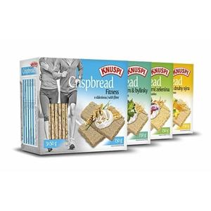 Knuspi Crispbread - Prom-IN 150 g Graham+Bylinky
