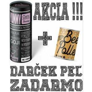 Yummy Oats Porridge + Bee Pollen Zdarma - FitBoom 980 g + 150 g Pinacolada