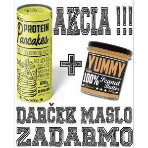 Protein Pancakes + Yummy Peanut Butter Zdarma - FitBoom 600 g + 340 g Strawberry