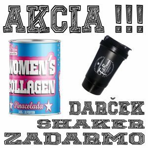 Akce: Womens Collagen + Šejkr Zdarma - FitBoom 340 g Pinacolada