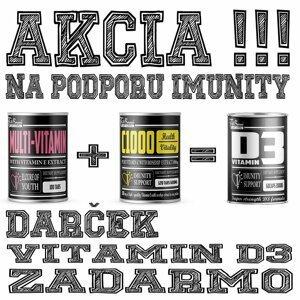 Akce: Multi-Vitamin + C 1000 + Vitamin D3 Zdarma - FitBoom 100 tbl. + 120 tbl. + 60 kaps.