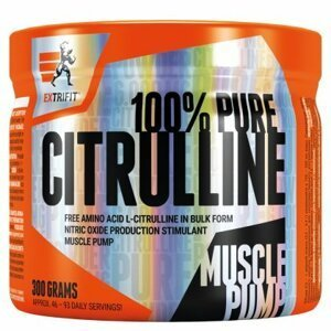 Citrulline 100% Pure Powder - Extrifit 300 g Orange