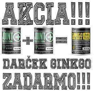 2 + 1 Zdarma: Joint Protection + Ginkgo Biloba Zdarma - FitBoom 100 kaps. + 100 kaps. + 100 tbl.