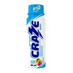 Craze Shot - 6PAK Nutrition 80 ml. Orange