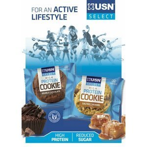 High Protein Cookie - USN 60 g Double Chocolate