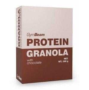 Protein Granola - GymBeam 300 g Honey+Almonds
