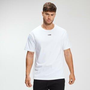 MP pánské tričko s krátkým rukávem Rest Day – Bílé - M