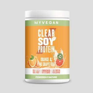 Clear Soy Protein - 340g - Orange and Pink Grapefruit