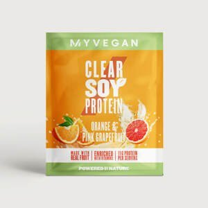 Clear Soy Protein - 17g - Orange and Pink Grapefruit