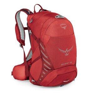Batoh Osprey Escapist 25 Velikost zad batohu: S/M / Barva: červená