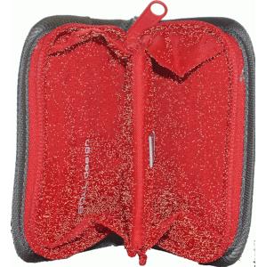 Peněženka Boll Mini Wallet Barva: šedá/červená